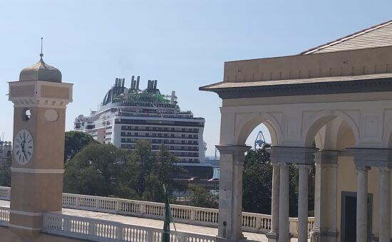 MSC Grandiosa porto di Genova 2020