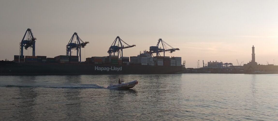 Portacontainer Hapag terminal Sech